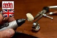 20x Cotton Wool Mope On 2.35 Shank, Pendant Drill Polishing Tools