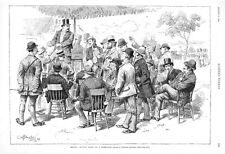 Selling Auction Pools on a Horse Race  -  Betting on Horse Races   - 1888