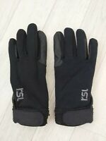 RSL Womens Ladies or Teenagers Black Horse Riding Gloves Size XXS Equestrian