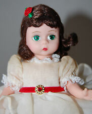 "Madame Alexander 8"" Scarlett White Organdy Dress 16648 Prayer Outfit"