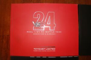 VsTank Print Catalogue - Product of Toy East - 91 pages in MINT CONDITION - Red