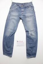 Levis engineered 308 con rotture boyfriend jeans usato (Cod.F1268) Tg.46 W32 L34