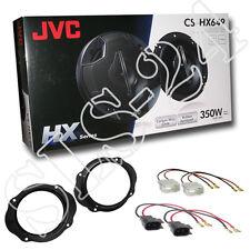 JVC Lautsprecher Set FORD Kuga Fiesta 350W Boxen Lautsprecherringe+ KFZ ADAPTER
