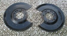 FORD MONDEO MK3 TDCI REAR DISC BRAKE FIT BACK DUST STEEL PLATES - LEFT & RIGHT