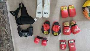 Boxing Gloves and accessories bundle