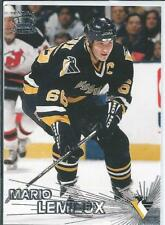Mario Lemieux  97/98 Pacific (Inaugural Issue)  #66  Silver parallel SP - Insert