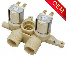 WH13X10048 OEM Triple Inlet Water Valve For GE Hotpoint Washing Machines Washers