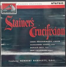HMV ASD 454 ED 1 (G/C) AUS PRES STAINER CRUCIFIXION BARDGETT YOUNG BELL CHADWICK