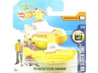 Hotwheels The Beatles Yellow Submarine 49/365 Short Card 1 64 Scale Sealed New