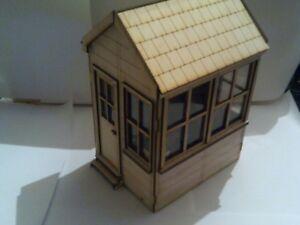 7/8th scale small signal box for narrow gauge garden railways
