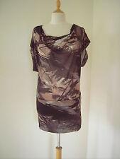 Minikleid Kleid von Mango Gr. 34 / XS Tunika Longshirt Batik TOP
