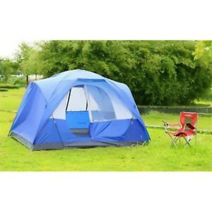 SEMOO Water Resistant 5 Person D-style Door Large Family Camping/Travelling Tent