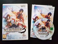 Samurai Warriors 3 - Nintendo Wii / Wii U - PAL - Free, Fast P&P!