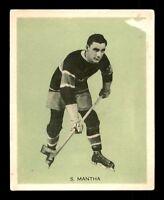 SYLVIO MANTHA 33-34 V288 HAMILTON GUM 1933-34 NO 18 GOOD+ 11246