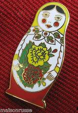 Matryoshka Nesting Doll Pin High Quality Colorful Enamel