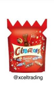 1 X Celebrations Chocolate Special Mix 134g New