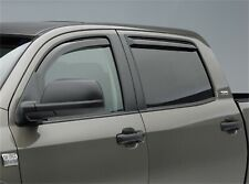WEATHER PRO IN CHANNEL RAIN GUARDS FOR NISSAN FRONTIER 2005-2015 ( CREW CAB)