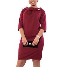 Elegant Women Office Formal Wear Business Work Party Dress Suit OL Plus Size