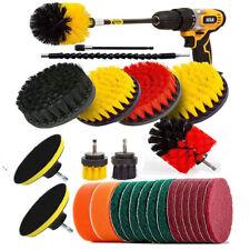 26Pcs Drill Brush Attachments Set, Scrub Pads & Sponge, Power Scrubber Brush