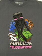 Minecon 2016 T-Shirt Shirt Youth Large Exclusive Charcoal Gray NEW