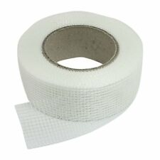 Self-adhesive white fiberglass mesh tape for cracks holes M2R3