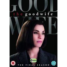 The Good Wife Season 7 Seven DVD 2016 Region 2 Europe Post
