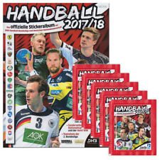 Victus - Handball 2017 2018 Sammelset Album + 5 Booster Tütchen deutsche Ausgabe
