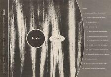 14/10/89Pgn25 Advert: Lush 6 Track Mini Album 'sear' Out Now & On Tour 7x11