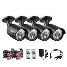 SANNCE 1080P In/Outdoor IR Night Vision CCTV Home Security 2MP AHD Camera S