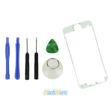"""White Front Middle Frame Bezel LCD Holder Frame W/ adhesive For iPhone 6 4.7"""""""