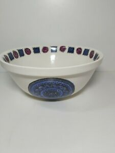 Portmeirion Pottery Talisman Large Mixing Bowl Fruit Bowl 2458