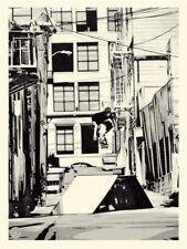 Shepard Fairey OBEY X HUF '93 print poster skateboarding san francisco street