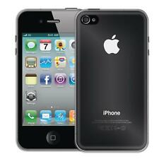 Apple iPhone 4 4s Thin Silicone Clear Case Cover Ultra Slim Shockproof Gel Back