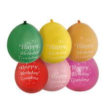 Ballons de fête rouge Amscan pour la maison