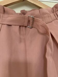 Arket Pink High Waisted Trousers 38