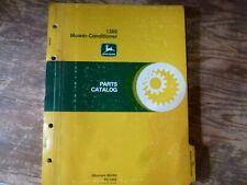 John Deere 1380 Mower-Conditioner Parts Catalog Manual Book Original Pc-1692
