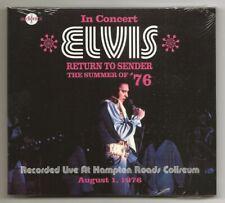 """ELVIS PRESLEY CD """"RETURN TO SENDER - THE SUMMER OF '76"""" 2019 AUDIONICS AUGUST 1+"""