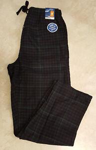 Mens Flannel Pajama/Lounge Pants-Hanes-Michael Morgan: S-M-L