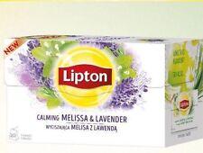 100 Lipton Tè calmante relax alla lavanda & camomilla Linden & sacchi a base di erbe 20x5 = 100