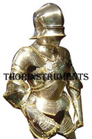 Medieval Armor Wearable Half Suit of Armor Reenactment Body Armour