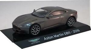 Aston Martin DB11 2016 in metallic grey 1:43 scale model