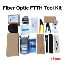 FTTH Fiber Optic Tool Kit Fiber Cleaver Optical Power Meter FC-6S Wire Stripper