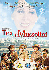 Tea With Mussolini (DVD, 2010) Sealed