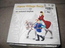 New Alpine Village Department 56 Our Enchanted Kingdom Horse Man & Women Figure