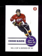 CONNOR McDAVID 2014 TEAM CANADA LIMITED EDITION #2 Of 20 ROOKIE CARD!