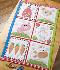 Cross Stitch Kit - Plaid / Bucilla Farm Animal Quilt Blocks #47731