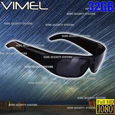 Camera SunGlasses Ski Sport Waterproof 1080P HD Video Glasses  Action Security