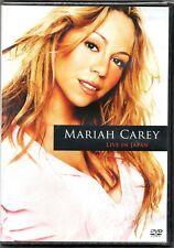 Mariah Carey DVD Live In Japan Brand New Sealed Rare