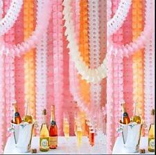 Hängende Papier Girlanden Flora Kette Hochzeit Party Decke Banner DekorationW YR