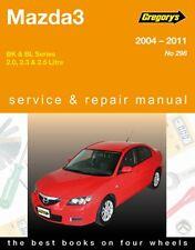 Gregory's Service Repair Manual Mazda3 Series BK BL 2004-2011 OWNERS WORKSHOP